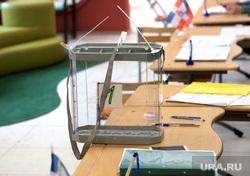 Выборы перенесенные на 4 декабря. Пермь, урна для голосования, выборы