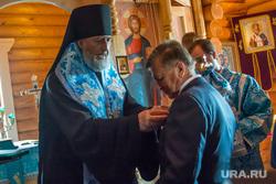 Рабочий визит Виктора Зубкова в село Мартыновка Курганской области, зубков виктор, епископ шадринский и далматовский владимир
