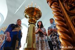 Визит Патриарха Кирилла  в село Батурино. Курганская область, храм, верующие, православие