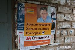 Предвыборная агитация. Пермь