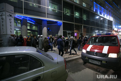 """Эвакуация отеля """"Гранд авеню"""". Якобы бомба. Екатеринбург, эвакуация"""