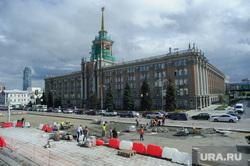 Виды Екатеринбурга, администрация екатеринбурга, ремонт дорог, дорожные работы, строительные работы, площадь1905 года, екатеринбург