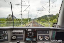День Свердловской железной дороги в Законодательном Собрании. Екатеринбург, поезд, железная дорога, кабина машиниста