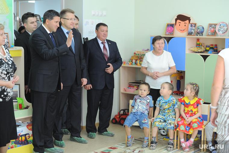 Открытие ГПА ТЭЦ-1 Ямалкоммунэнерго и детского сада в поселке Тазовский, ЯНАО. Необр