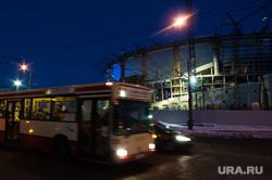 Виды Екатеринбурга, реконструкция, транспорт, проезжая часть, автобус, дорога, центральный стадион