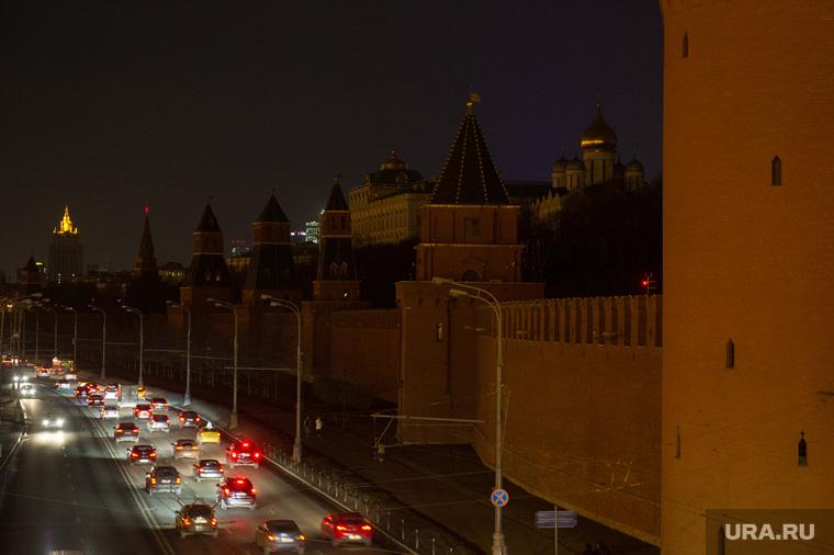 Отключение подсветки Кремля в рамках акции