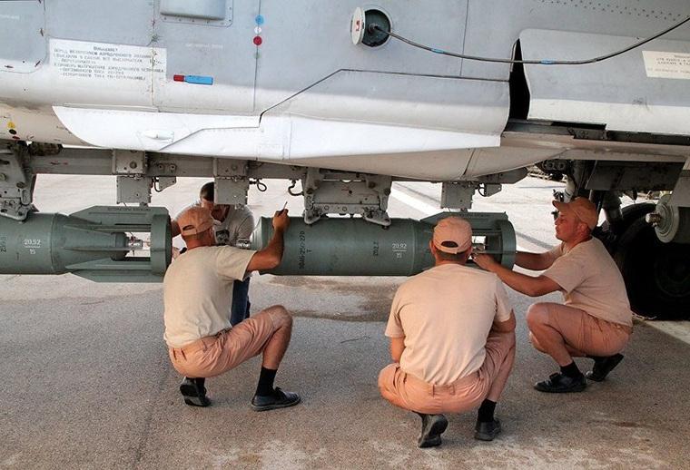 Российские самолеты на авиабазе Хмеймим Сирия., истребитель, Сирия, хмеймим