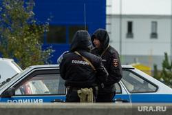 Антитеррористические учения проводимые УФСБ, МВД, ФСО. Сургут, полиция с автоматами