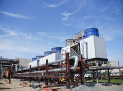 Северский трубный завод: общий вид, цеха, печи, очистные сооружения, система водоочистки