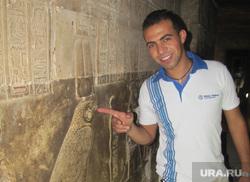 Египет, отдых туристов, фреска, археологи, египтянин