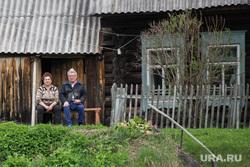Сплав Евгения Куйвашева и Игоря Холманских по Чусовой. Усть-Утка, деревня