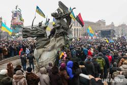 События на Майдане. Киев, флаг украины, майдан, киев, революция, правый сектор, протесты, площадь независимости, народное вече