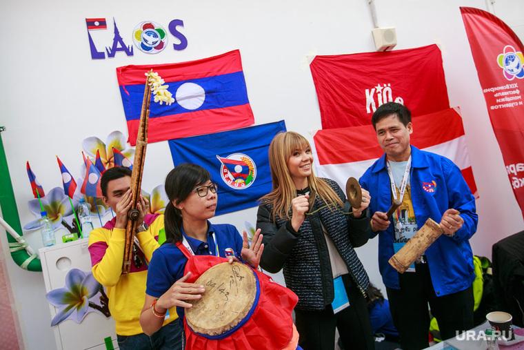 XIX Всемирный фестиваль молодежи и студентов. Второй день. Сочи, фестиваль молодежи и студентов, лаос