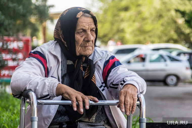 Клипарт. Август. Часть VI инвалид пенсионер старушка бабушка старость