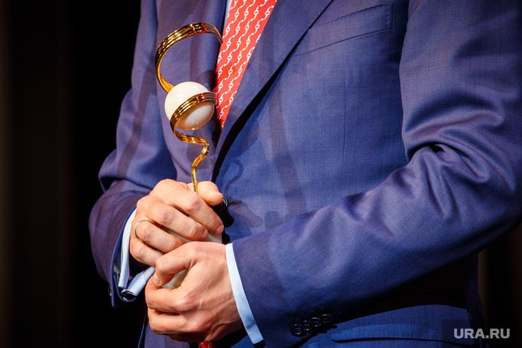 Церемония награждения «Человек года-2016». (ПЕРЕЗАЛИТО) Екатеринбург, статуэтка человек года