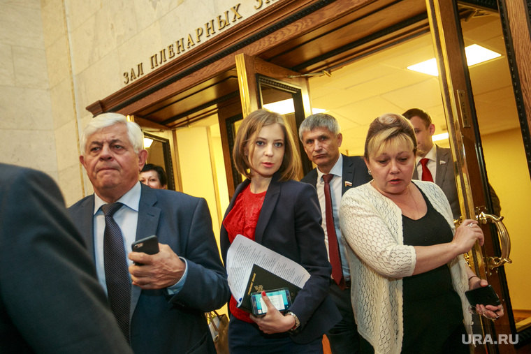 Пленарное заседание Государственной Думы. Москва, поклонская наталья