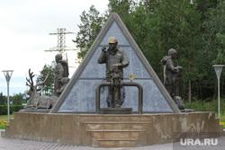 Ноябрьск. ЯНАО, ноябрьск, памятник нефтянику, янао