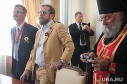 Прибытие мощей Георгия Победоносца в Екатеринбург, черноголов игорь