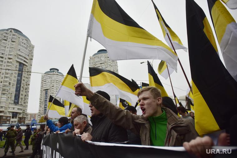 В столицеРФ начались задержания наотмененном «Русском марше»