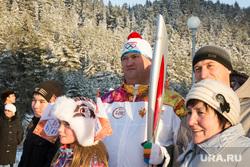 Эстафета Олимпийского огня в Ханты-Мансийске, редькин евгений, факелоносец