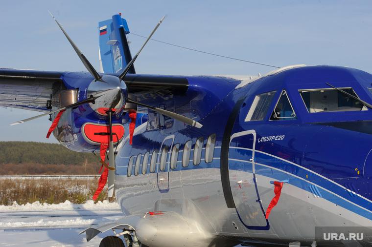 Чешский самолет на УЗГА. ЕКатеринбург, самолет, винт, легкая авиация, l-410