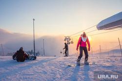 Горнолыжный комплекс «Хвойный Урман». Ханты-Мансийск., горнолыжный комплекс, сноуборд