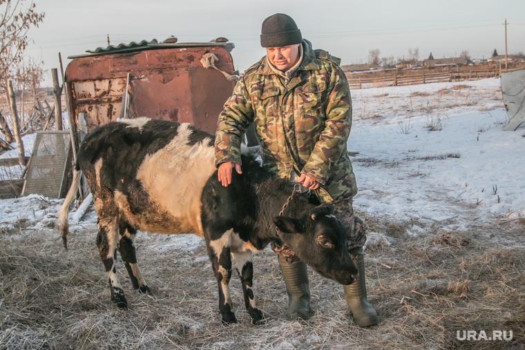 Евгений Васильев, житель села Лопатки. обвиняемый в приобретении