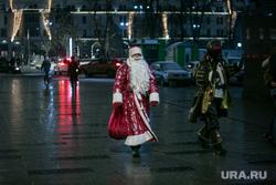Предновогодняя Москва. Иллюминация. Москва, дед мороз, новый год, вечерняя москва
