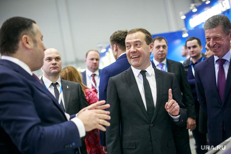 Российский инвестиционный форум 2017. День первый. Сочи, медведев дмитрий, палец вверх