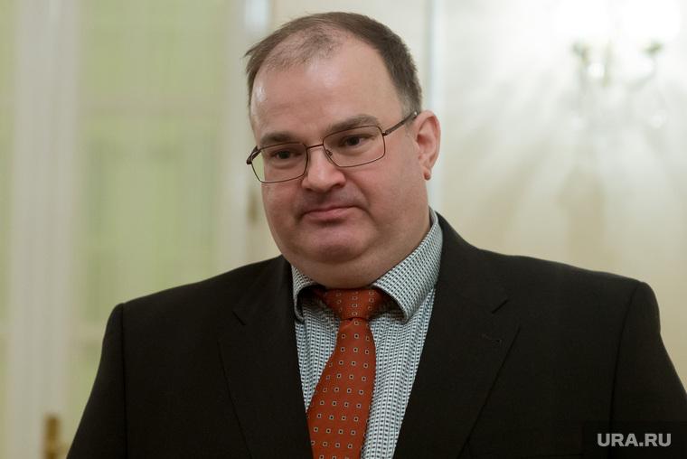 Новый министр здравоохранения Свердловской области Андрей Цветков и экс-министр Трофимов, цветков андрей