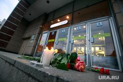 Теракт в Санкт-Петербурге (перезалил). Санкт-Петербург, мемориал, метро, сенная площадь, цветы, свечи, теракт