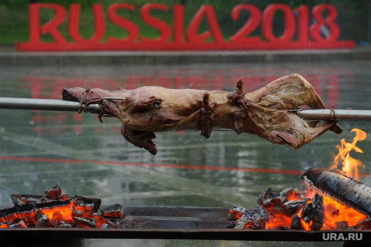 Виды Екатеринбурга, россия, russia, жареное мясо, барбекю, russia2018, fifa world cup, fifa2018, мундиаль
