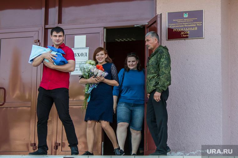 Курганский родильный дом, роддом, новорожденный, первенец