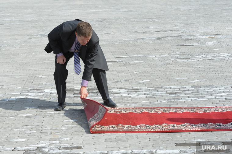 Южноуральский ТЛК. Челябинск., красная дорожка, ковер