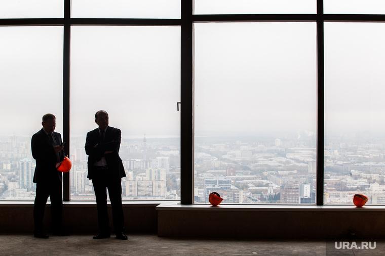 Башня «Исеть». Екатеринбург, офис, небоскреб, недвижимость, вид из окна