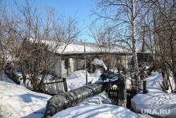 Балки - временное жилье построенное в советское время. Сургут, временное жилье, балок, поселок Юность