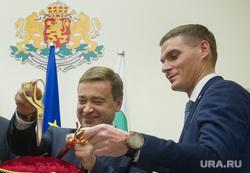 Открытие болгарского консульства в Екатеринбурге, харлов александр, ройзман евгений, соболев андрей