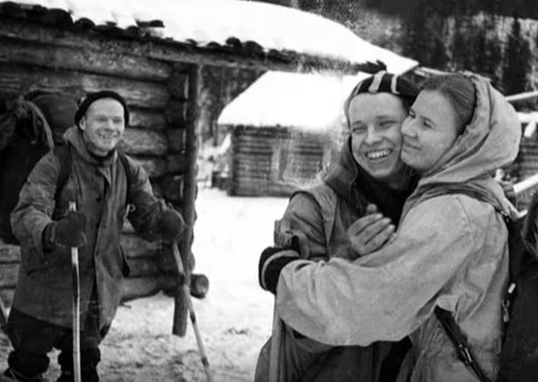 Фото группы Дятлова с пленки дятловцев, юдин юрий
