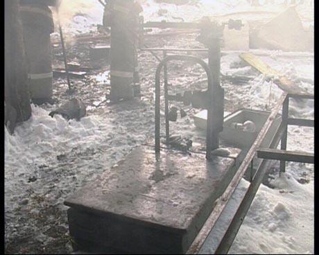 Попытка ограбления и поджог. В Екатеринбурге неизвестные совершили налет на пункт приема металлолома
