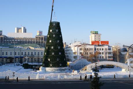 В центре Екатеринбурга на глазах у прохожих мэрия уничтожила вишневый сад