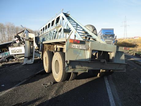 Страшная авария на трассе Курган-Челябинск: грузовик влетел в лоб рейсовому автобусу. Есть жертвы