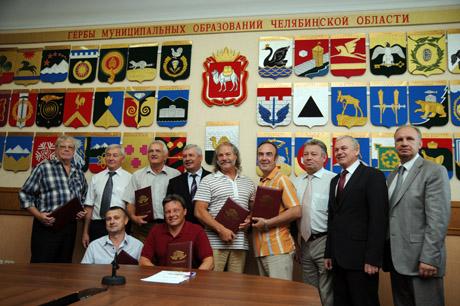 Челябинской супергруппе скоро стукнет«сороковник». VIP уже начинают поздравлять, делать памятные ФОТО  и приглашать в «Единую Россию»