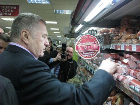 Визит Жириновского в Курган начался со скандала: кое-кто очень разочаровался, а кое-кому пришлось даже снимать побои