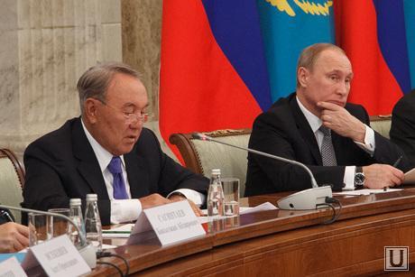 Путин и Назарбаев. Саммит Россия - Казахстан. Екатеринбург, путин владимир