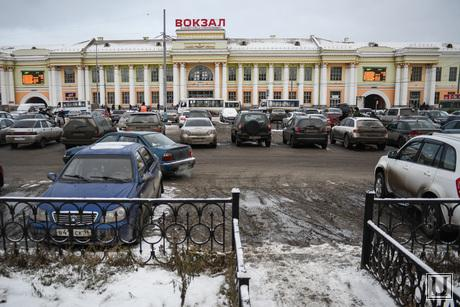 Грязь и бардак на ЖД вокзале. Екатеринбург, вокзал, грязь, жижа