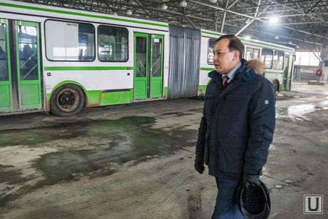 Депутатский рейд по автобусам Тюмень, тулебаев