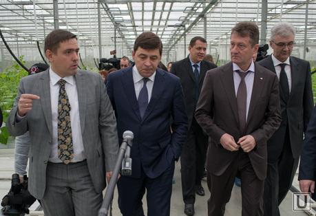 Визит Евгения Куйвашева в