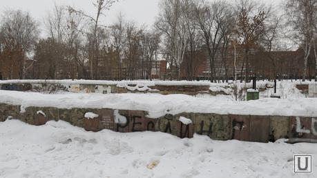 Алое поле, храм Александра Невского, дворец пионеров им Крупской, Челябинск., алое поле фонтан