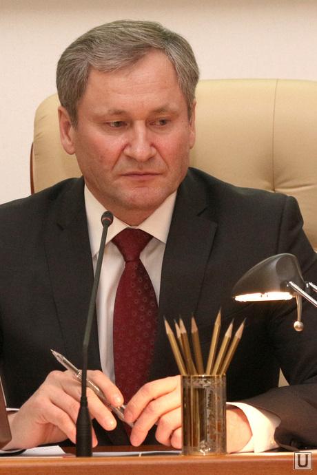 Заседание Правительства области  Курган, кокорин алексей