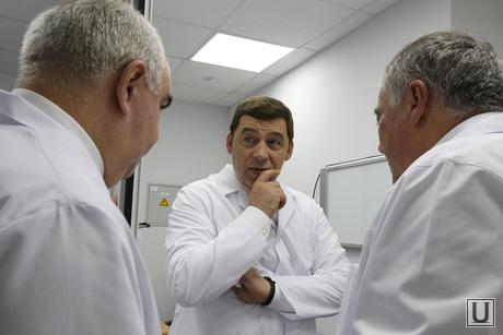 Куйвашев и Габинский в Кардиоцентре Габинского, куйвашев евгений, кардиоцентр